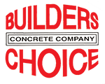 Builder's Choice Concrete Company Logo